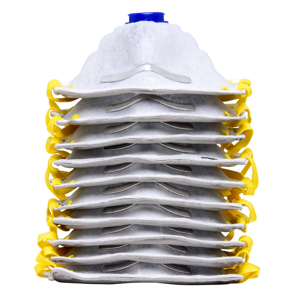1804 (10-pack) P95 Disposable Dust Masks with Active Carbon Layer