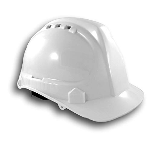 SH01-WHI Vented Hard Hat - White