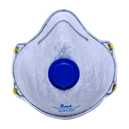 Amston P95 Masks with Valve & Active Carbon Layer | Available NIOSH-Approved Safety Masks