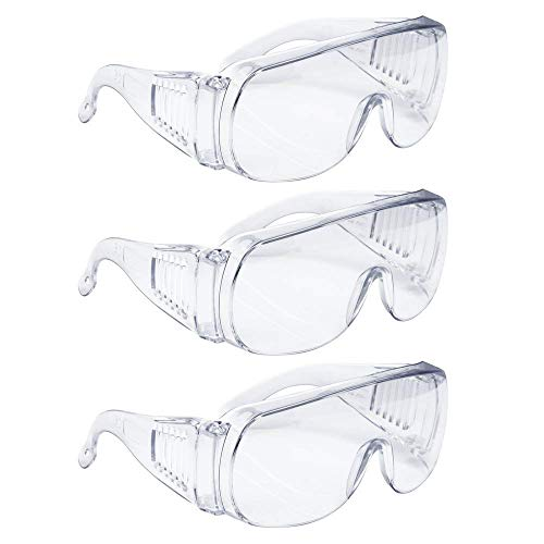 GL0100-3 Safety Glasses (3-pack)