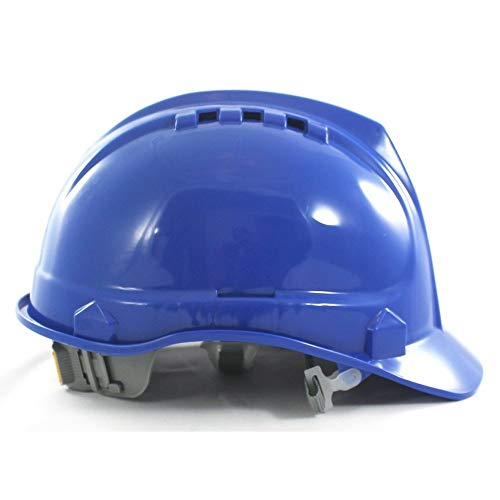 SH01-BLU Vented Hard Hat - Blue