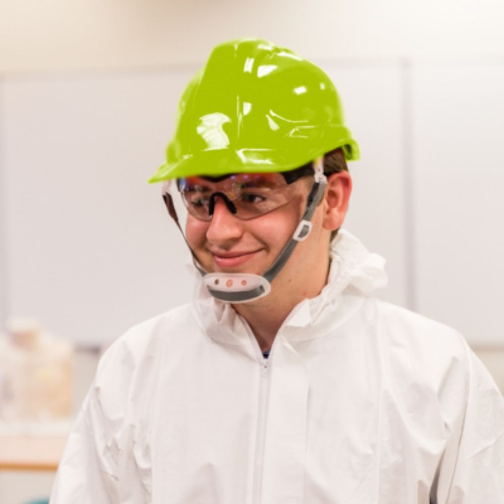 SH01-HVG Vented Hard Hat - Green