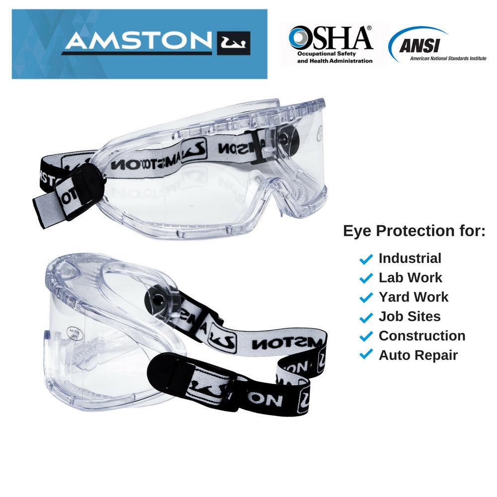 GG0100 Safety Goggles - Clear Lens