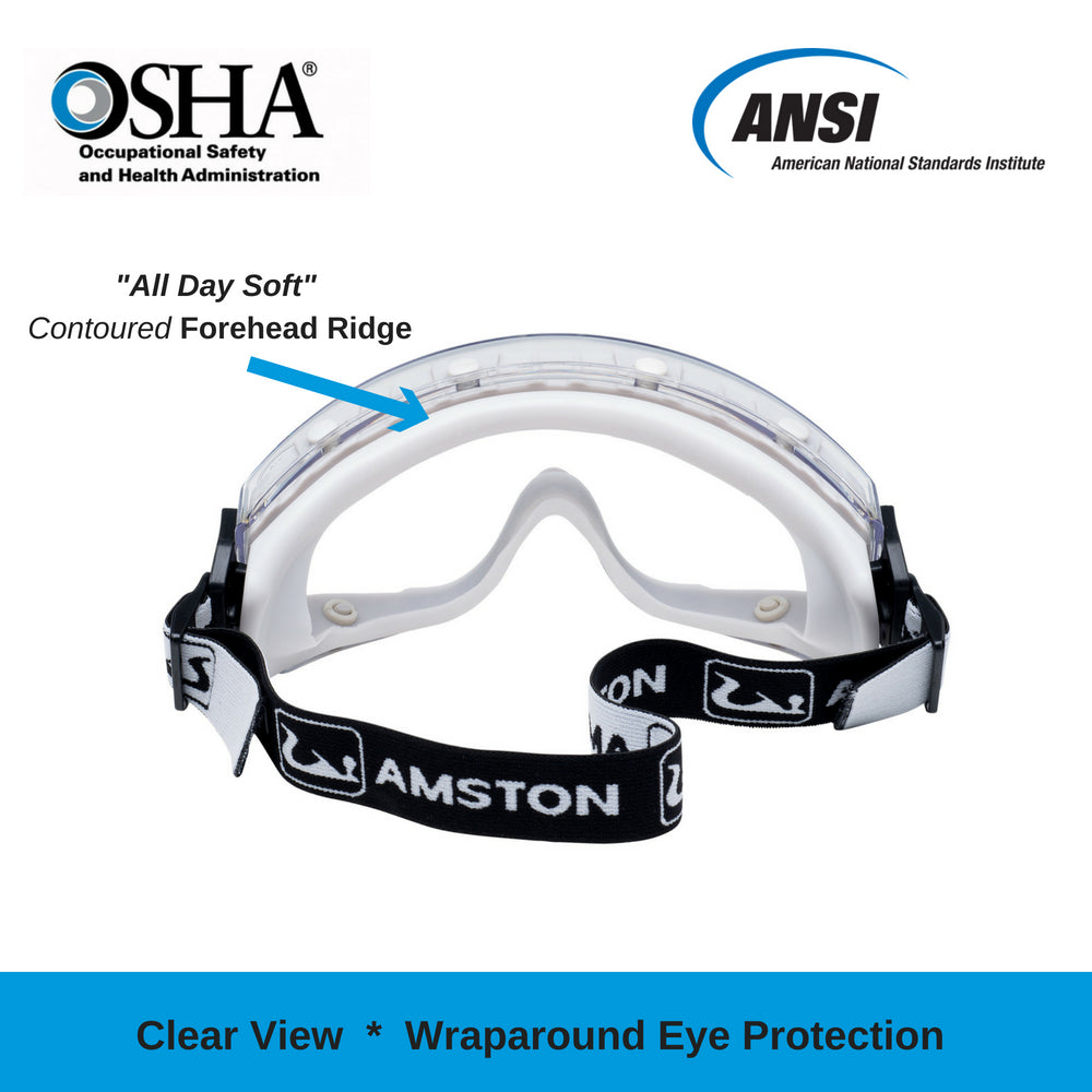 GG0200 Safety Goggles - Clear Lens