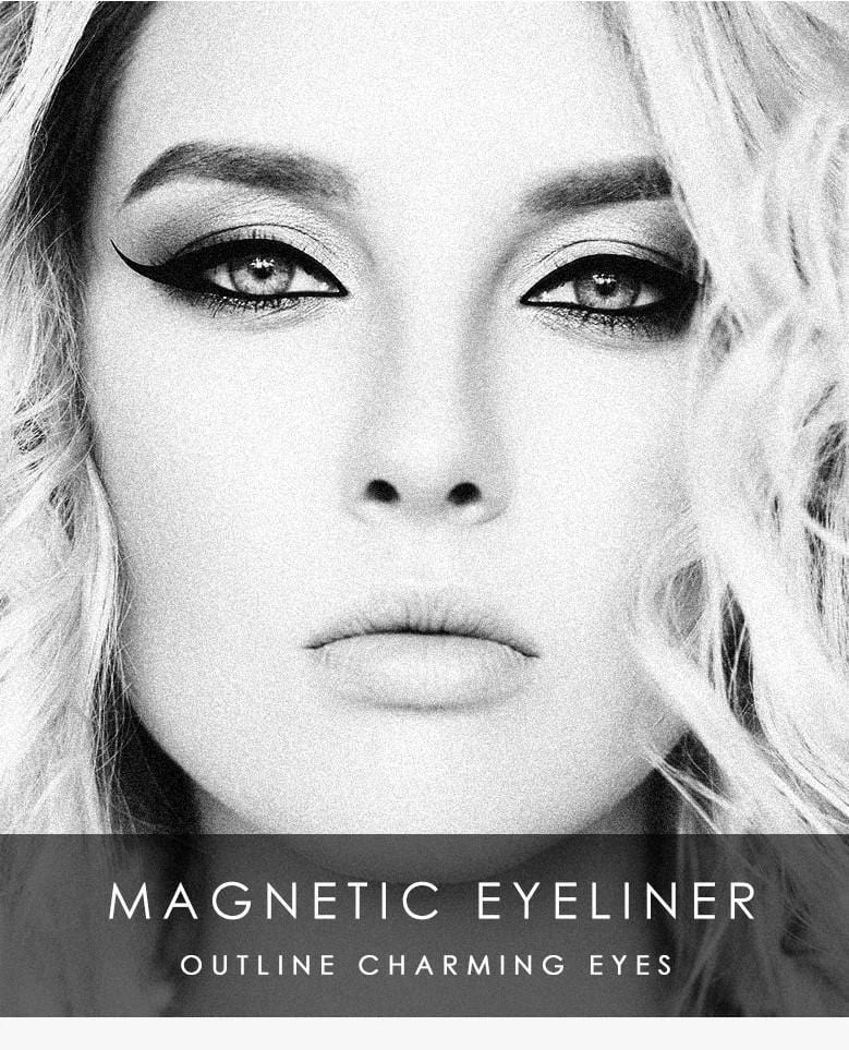 Magnetic Eyeliner & Eyelash Set - Simply Hippo