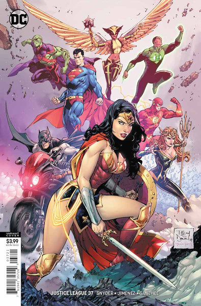 Review  Justice League #37: Last Stand in Space