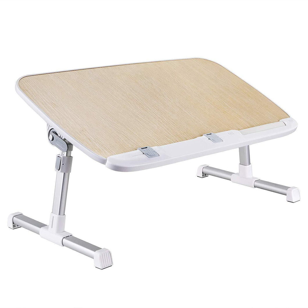 Save laptop lap desk foldable laptop table stand height adjustable laptop desk for bed and sofa portable lap desk bed tray table office standing desk riser computer desk drafting table