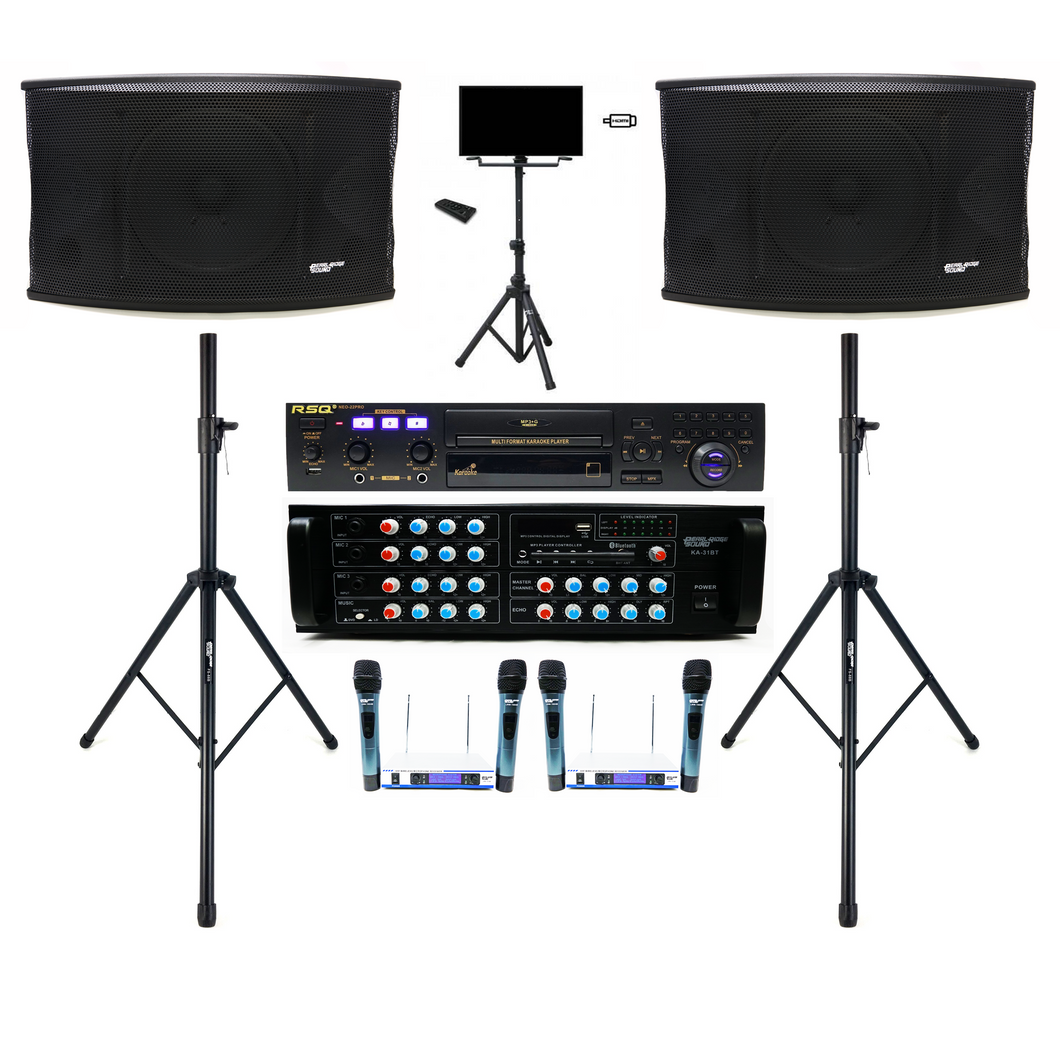 Karaoke System, Youtube Karaoke Machine, Home Karaoke, Bluetooth