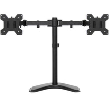 Load image into Gallery viewer, 4in Wide Adjustable LCD Monitor Desk Stand - Black