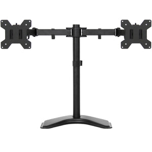 4in Wide Adjustable LCD Monitor Desk Stand - Black
