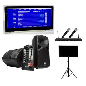 Karaoke Touchscreen Laptop Wireless Professional Karaoke System