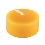 natural beeswax tealight candle refill