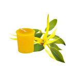 Cute essential Votive Evening Bloom Beeswax Candle