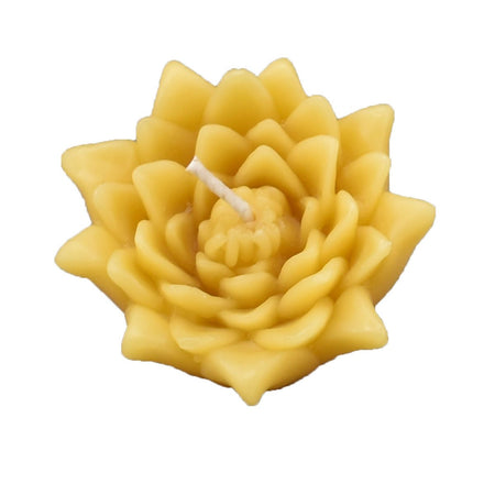 Beeswax Floating Lotus Candle
