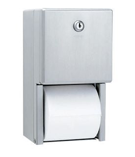 Surface Mounted Multi-Roll Toilet Tissue Dispenser