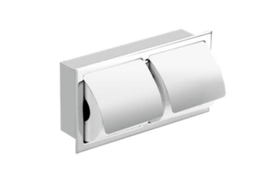 Stainless steel TP dispenser