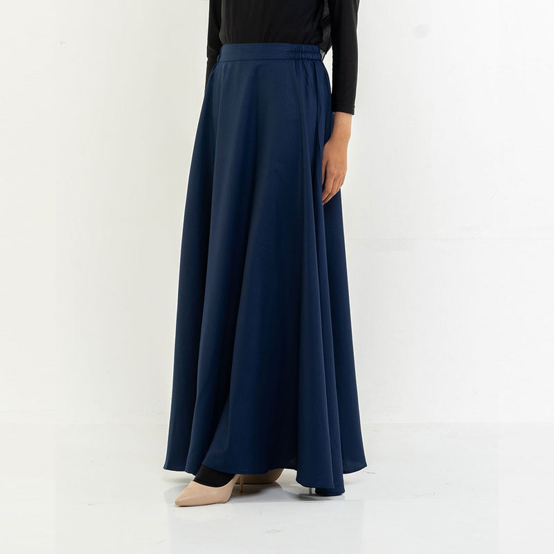 Wide Skirt Navy