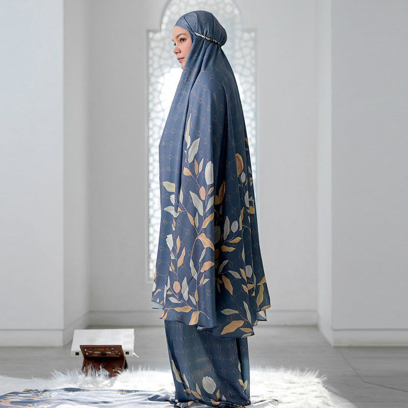 Hajj - Signature Prayer Robe Forest Blue