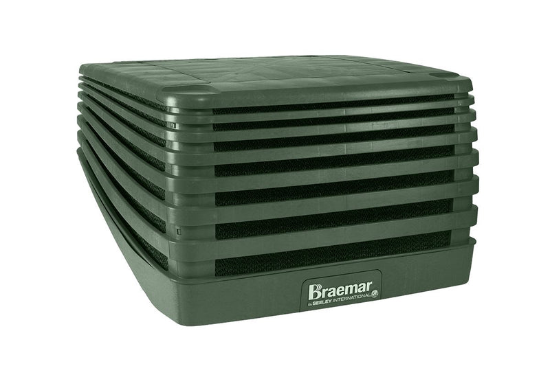 Braemar Evolution 10.4kW Evaporative Cooler LPQI350 Heritage Green Air Conditioner