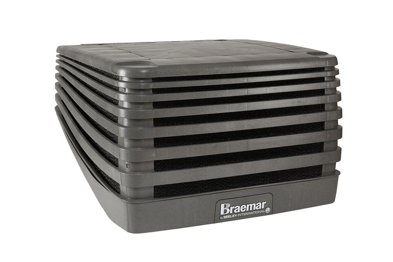Braemar Evolution 8.4kW Evaporative Cooler LPQI250 Slate Grey Air Conditioner Slate Grey
