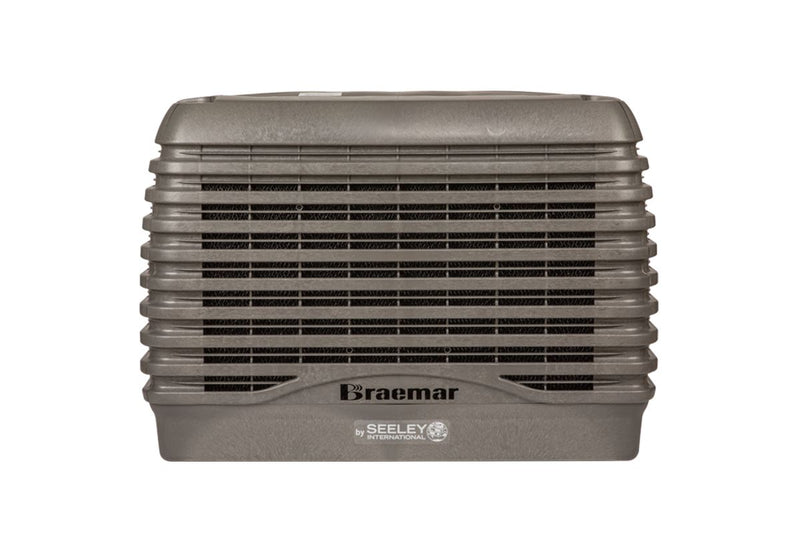 Braemar Paradigm 14.1kW Evaporative Cooler-LCQ550 Slate Grey Air Conditioner Slate Grey
