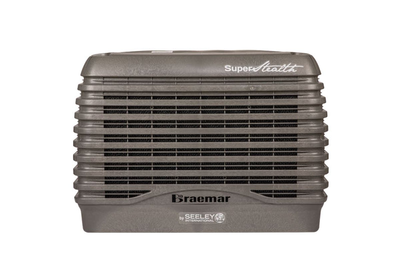 Braemar SuperStealth 13.5kW Evaporative Cooler-LCQI450 Slate Grey Air Conditioner Slate Grey