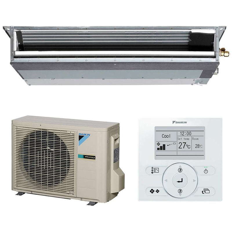 Daikin Bulkhead 3.4kW Ducted Reverse Cycle FDXS35L-LB Air Conditioner