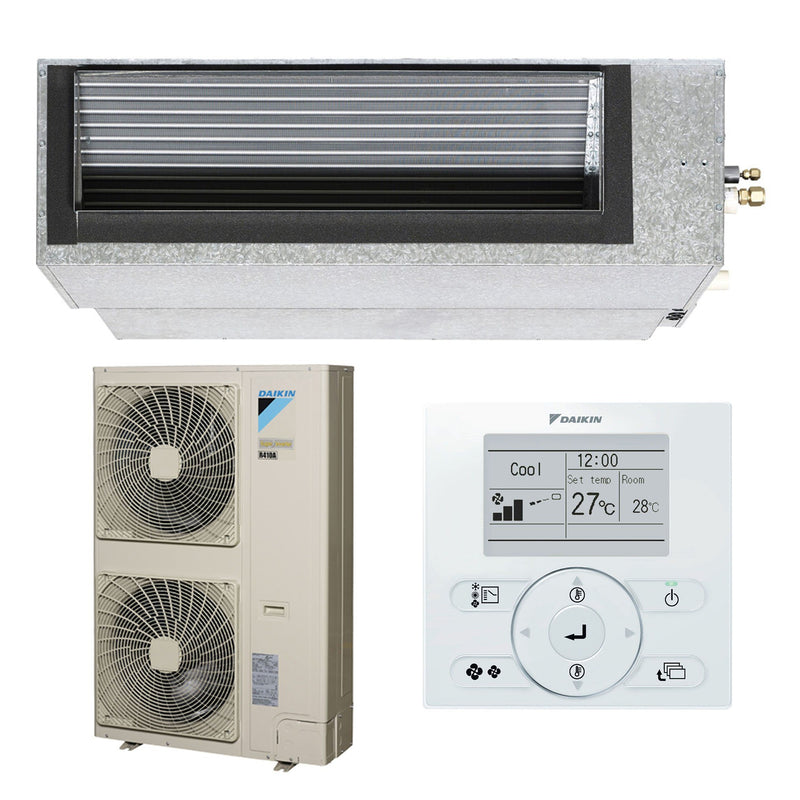 Daikin Inverter 12.5kW Ducted Reverse Cycle FDYQN125LA-LV Air Conditioner