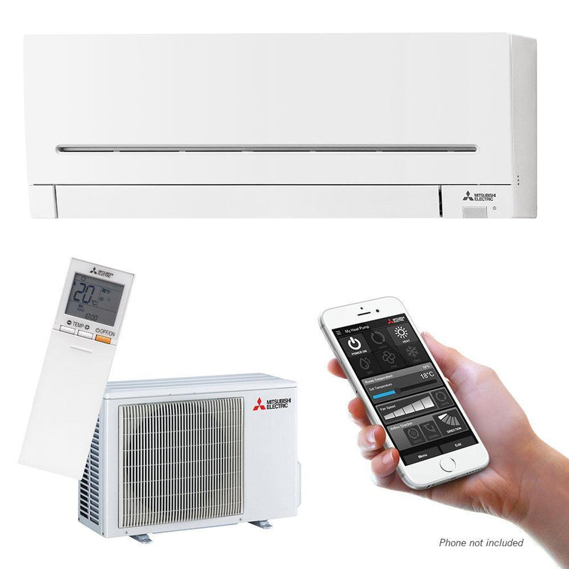Mitsubishi Electric AP Series 2.5kW Wall Split System MSZ-AP25VG Air Conditioner