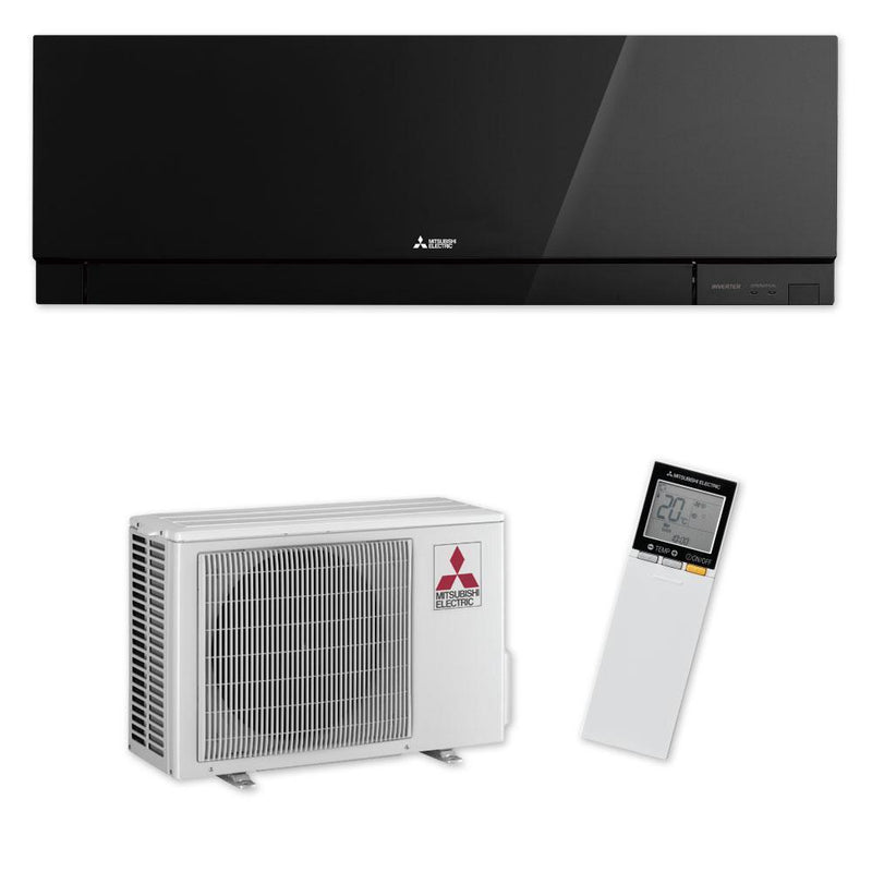 Mitsubishi Electric EF Series 3.5kW Wall Split System MSZ-EF35VE2B Black Air Conditioner