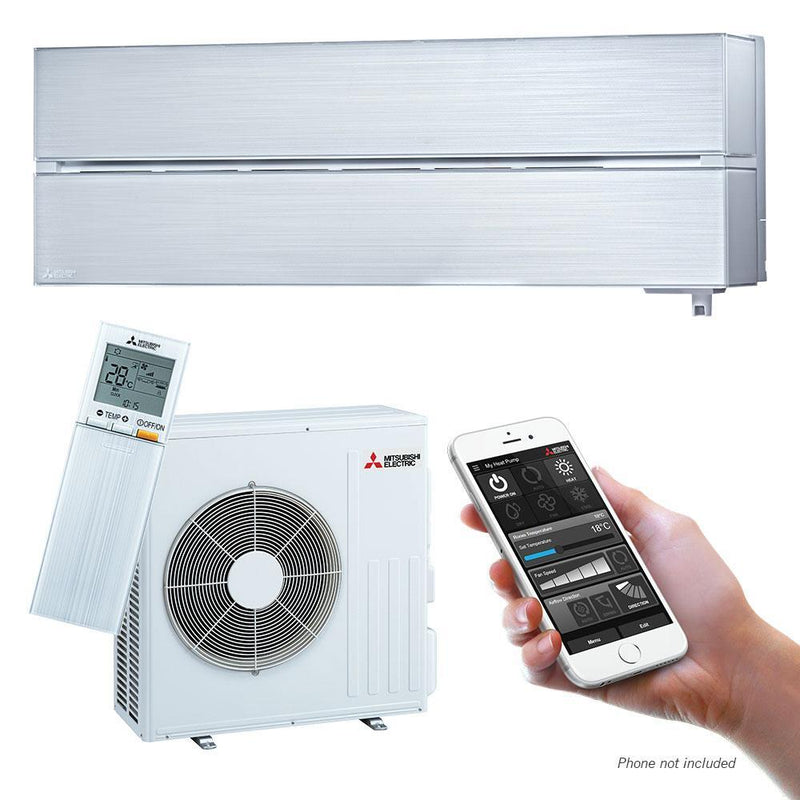 Mitsubishi Electric LN-Series 6.1kW Wall Split System MSZLN60VGVKIT White Air Conditioner