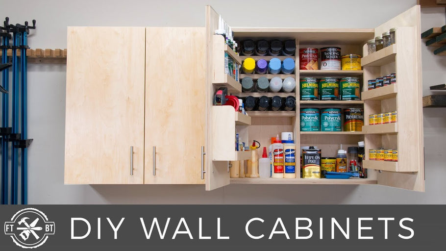 Get plans to build these cabinets: