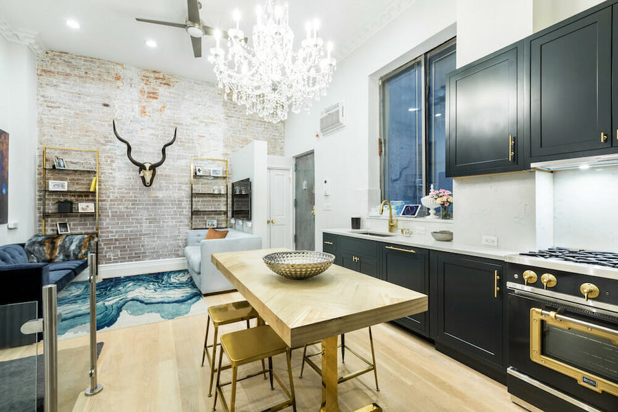 Expecting parents take on a Manhattan duplex remodel to expand their space and fortify for the future
