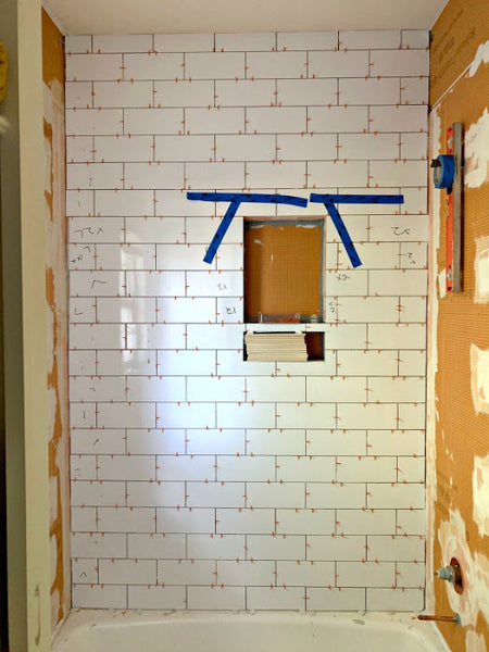 KIDS' JACK AND JILL BATHROOM MAKEOVER- WEEK 3 PROGRESS