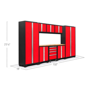 Newage Products Bold 3.0 Series 9 Pc Set 50608 Garage Storage Cabinets Bold 3.0