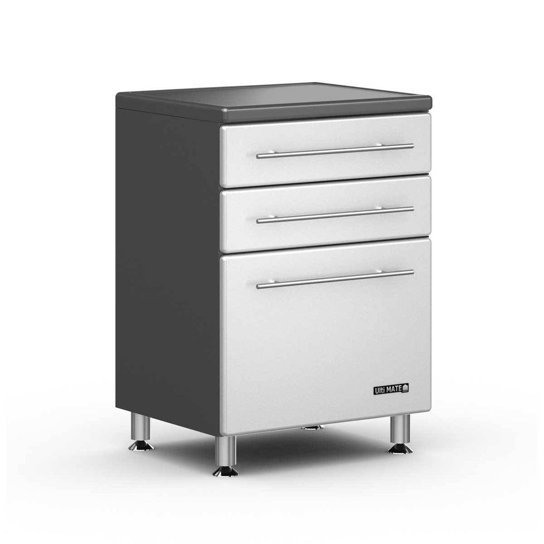 Ulti-MATE Storage Starfire 3-Drawer Base Cabinet: - GA-04SW
