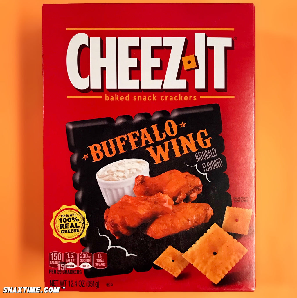 Cheez-It Buffalo Wing: NEW FLAVOR!