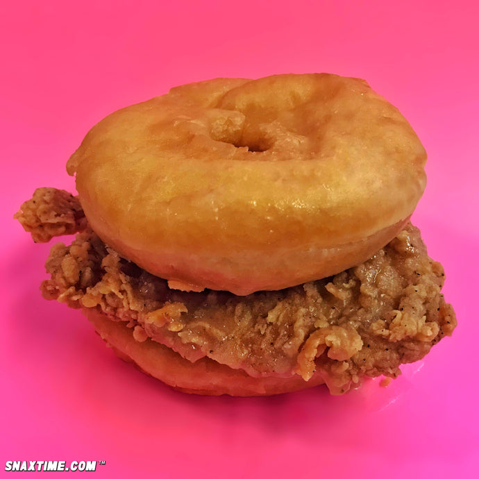 KFC Chicken & Donuts Sandwich: KENTUCKY FRIED DREAMS!