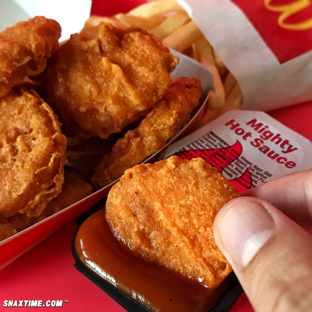 McDonald's Spicy Chicken McNuggets: HOT NUGGETS!