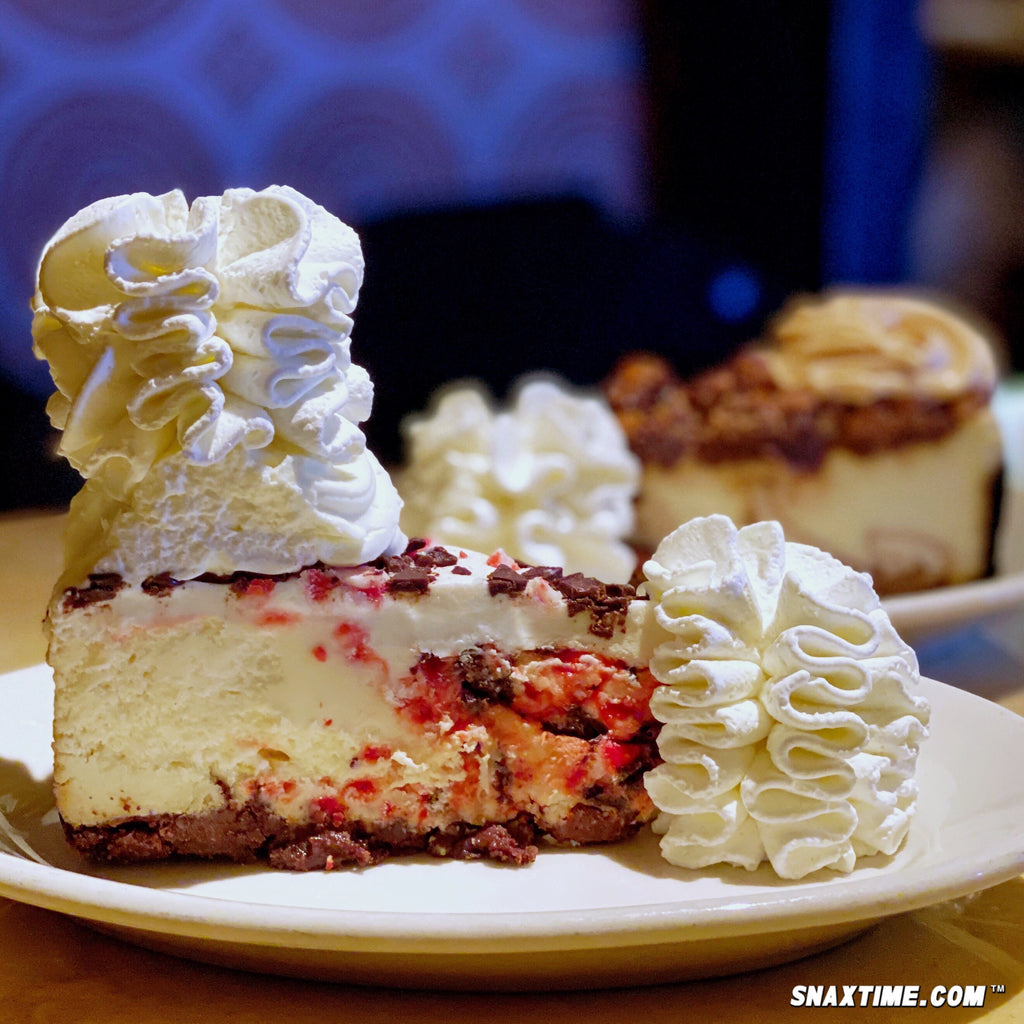 The Cheesecake Factory Peppermint Bark Cheesecake