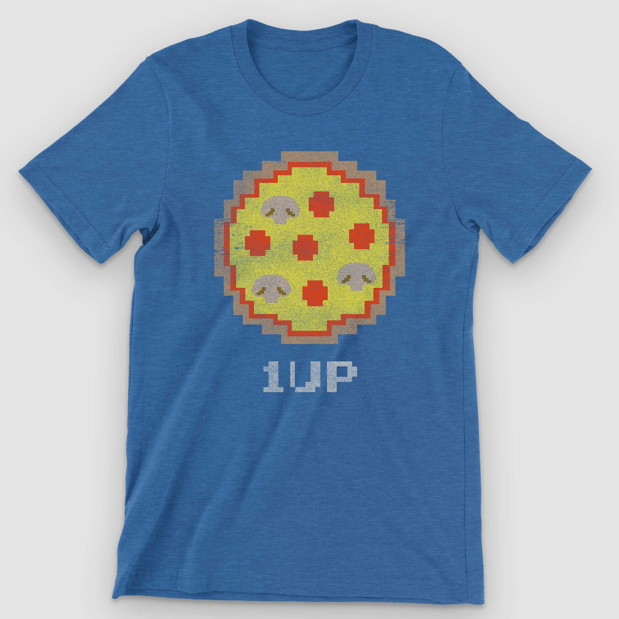 8-bit Arcade Pizza Graphic T-Shirt