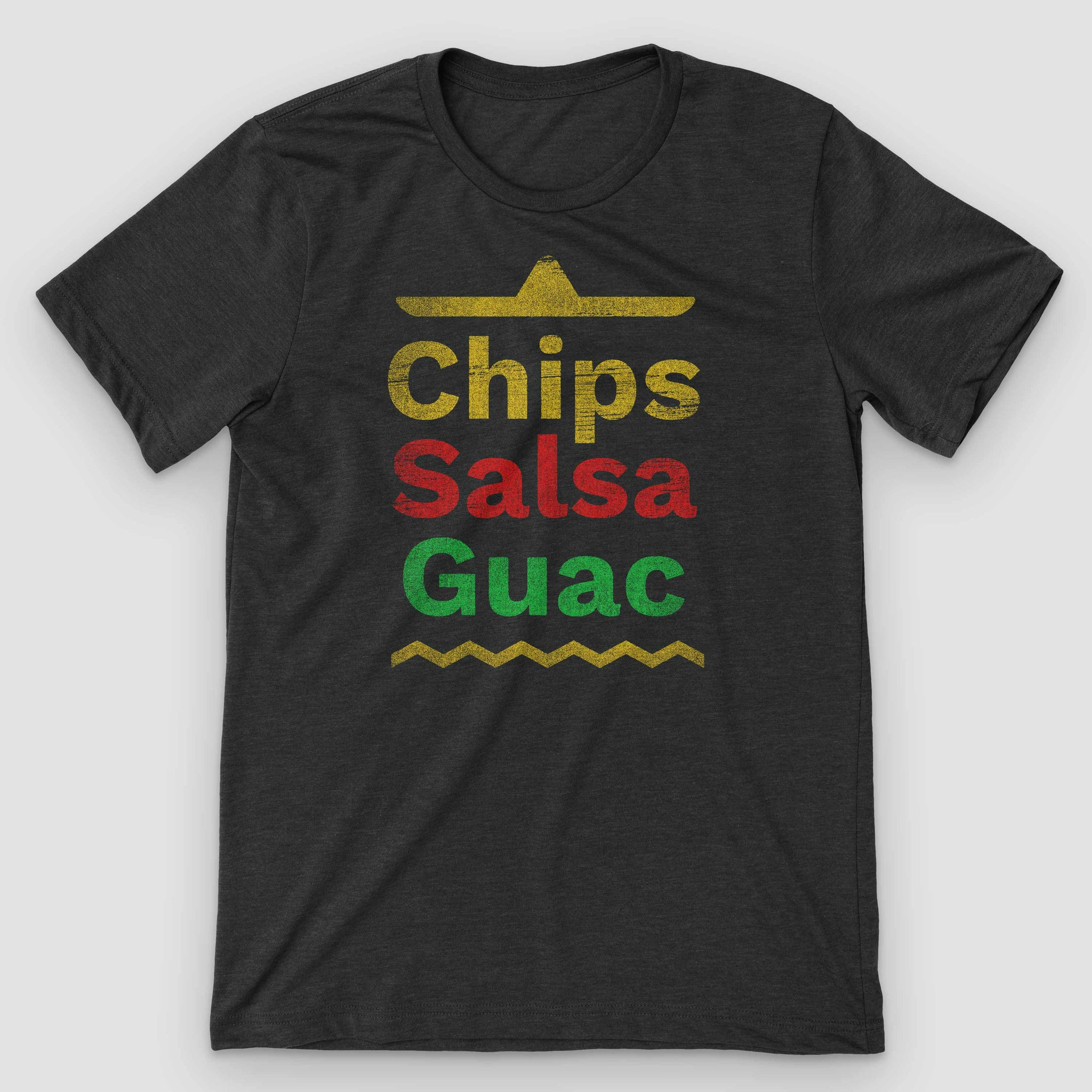 Chips Salsa Guacamole Mexican Food T-Shirt