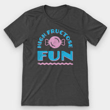 Load image into Gallery viewer, High Fructose Fun Graphic T-Shirt - Snaxtime Retro Style Food Apparel