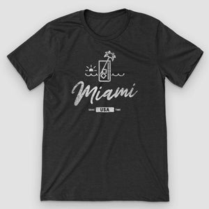Miami Sunset Mojito Graphic T-Shirt - Snaxtime