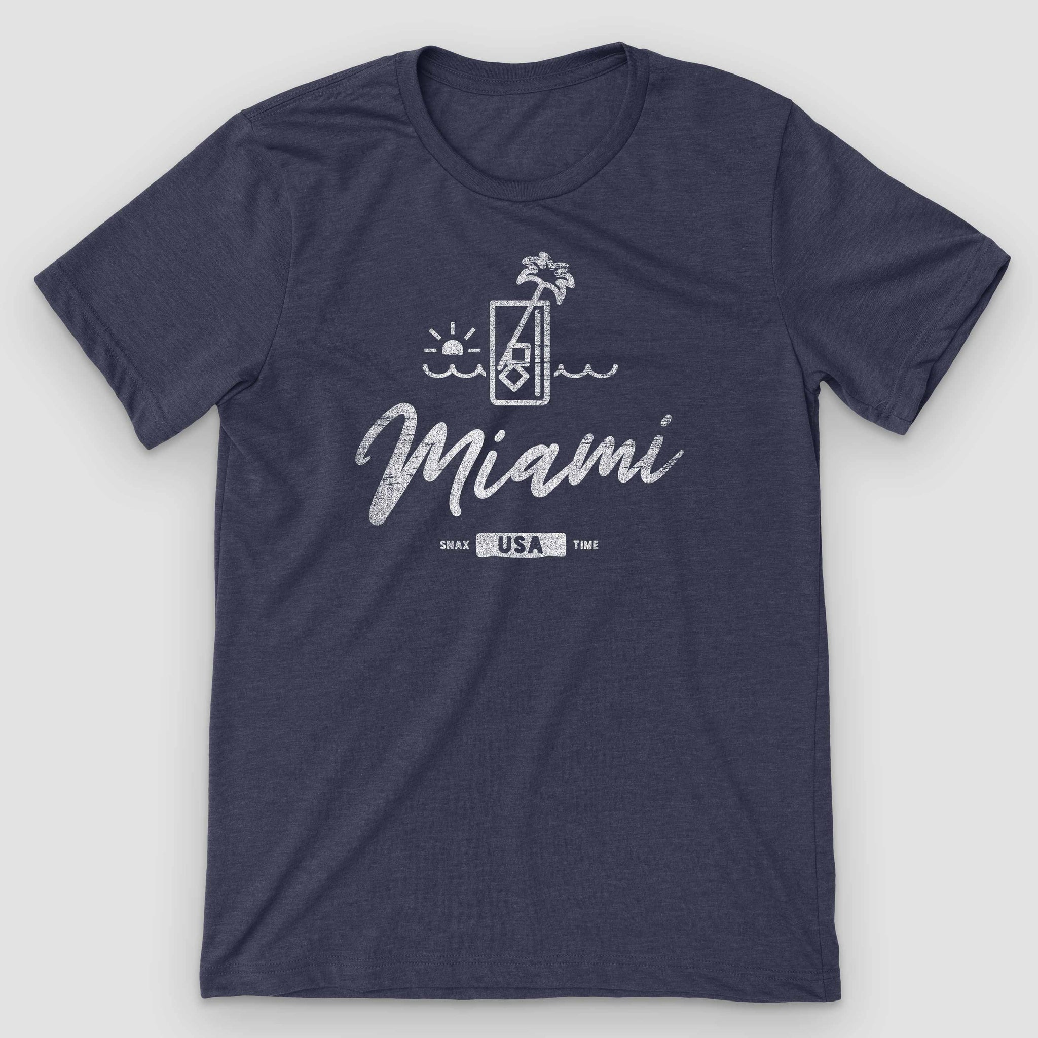 Miami Sunset Mojito Graphic T-Shirt