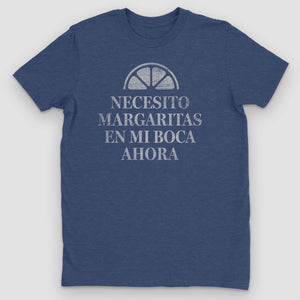 Necesito Margaritas Graphic T-Shirt - Snaxtime Retro Style Food Apparel