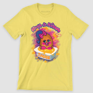 Nugs and Kisses Graphic T-Shirt - Snaxtime Retro Style Food Apparel
