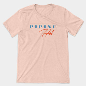 Piping Hot Graphic T-Shirt - Snaxtime Retro Style Food Apparel