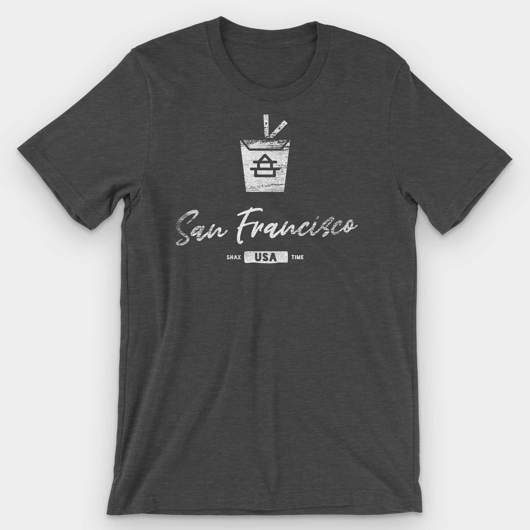 San Francisco Chinese Takeout Graphic T-Shirt - Snaxtime