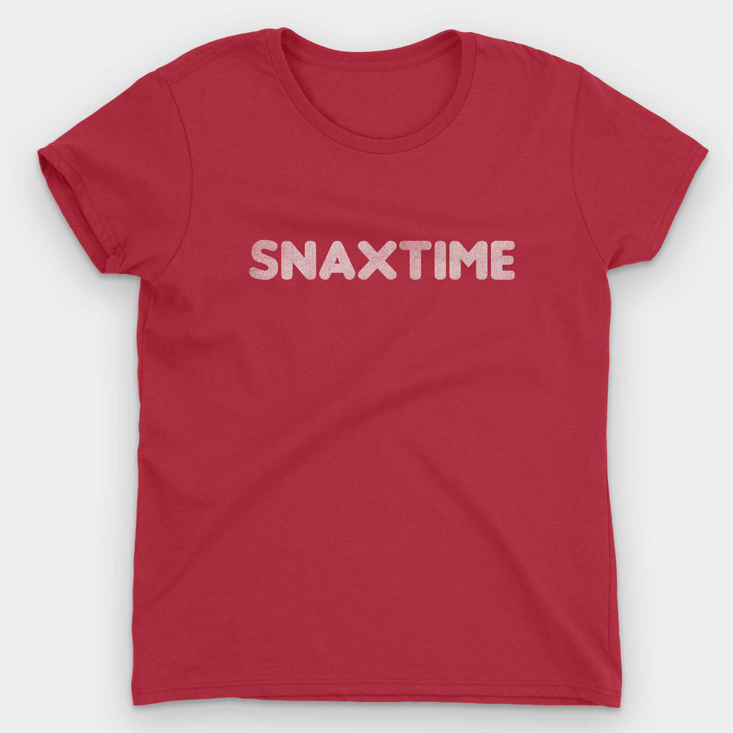 Snaxtime Summer Job Women's T-Shirt - Snaxtime Retro Style Food Apparel